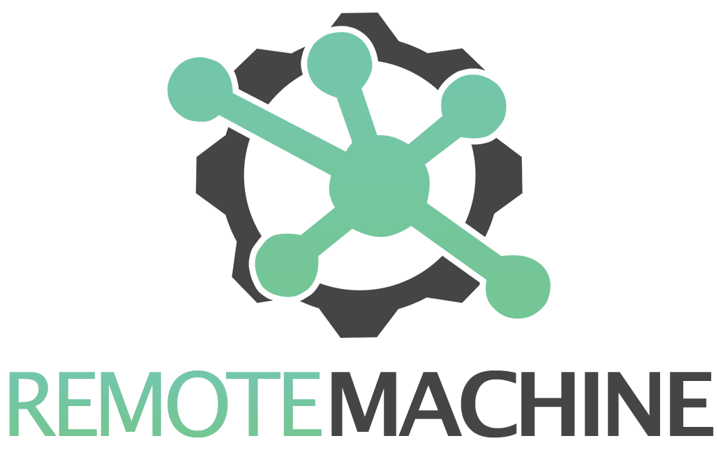 Remote Machine Logo completa sem fundo